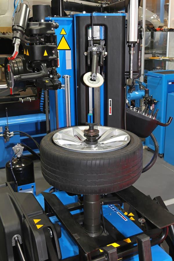 Download Tyre repair stock photo. Image of wheel, shop, automobile - 33277890