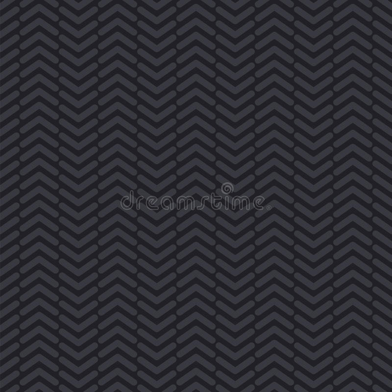 Tyre tread. Seamless vector pattern. The design element on the automotive theme royalty free illustration