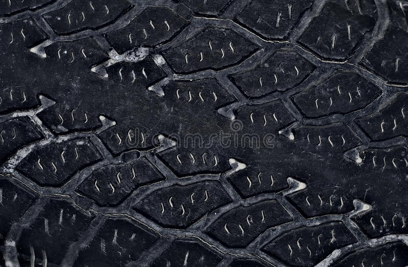 Tyre tread stock photo