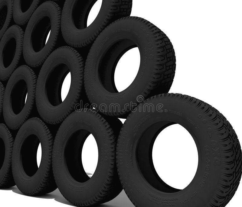 Tyres vector illustration