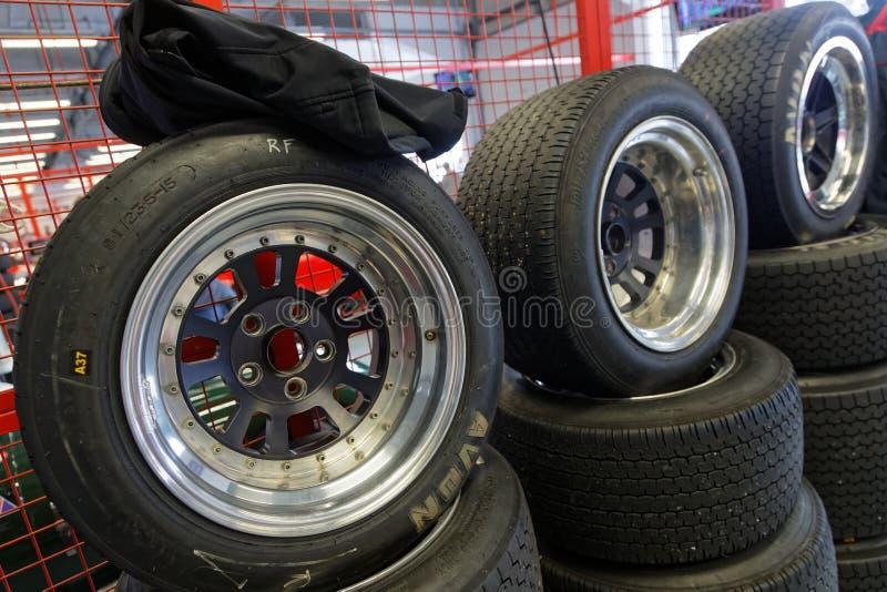 tyres στοκ φωτογραφία