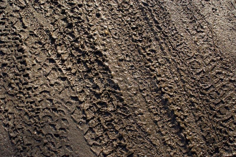 tyretracks10 στοκ φωτογραφία