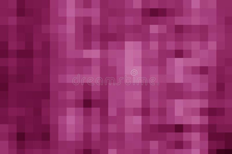 Tyrian purpurfärgad PIXELbakgrund royaltyfri foto