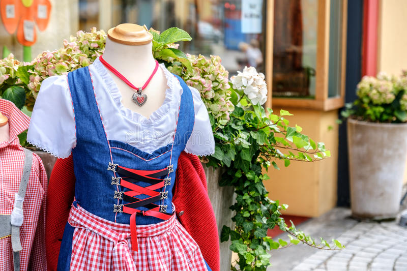 Tyrol traditional clothes royalty free stock photos