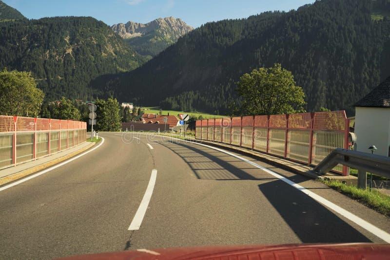 Tyrolean Alps fotografia stock