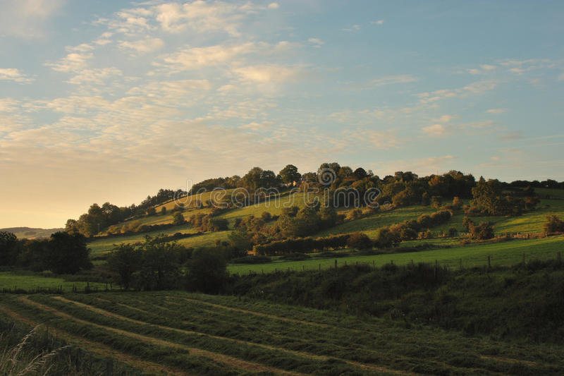 Tyrone rurale fotografia stock