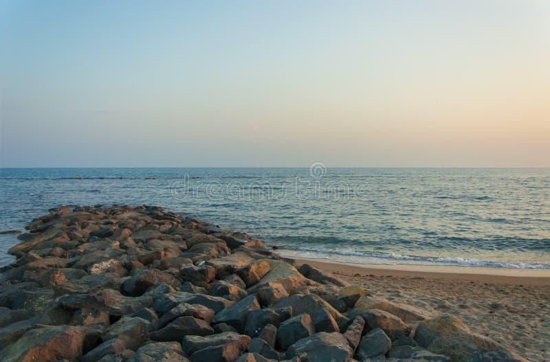 Tyrrhenian hav arkivfoto