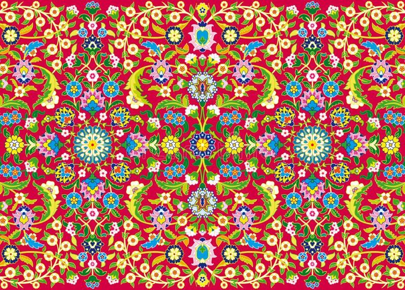 Tysiąc kwiatów ilustracja wektor
