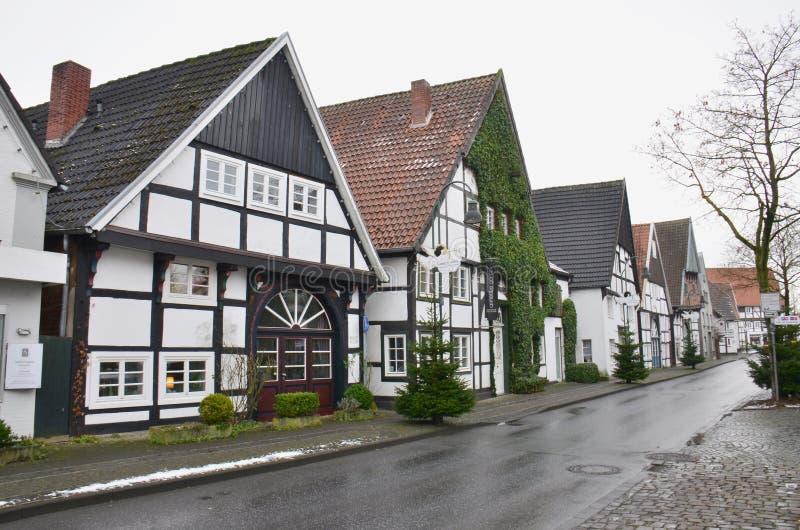 Tysk arkitektur royaltyfria bilder