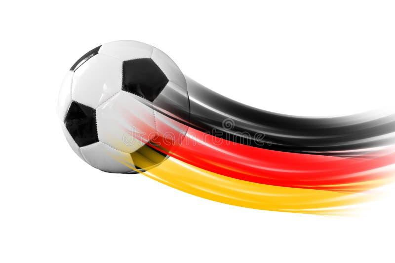 Tysk fotbollboll royaltyfri bild