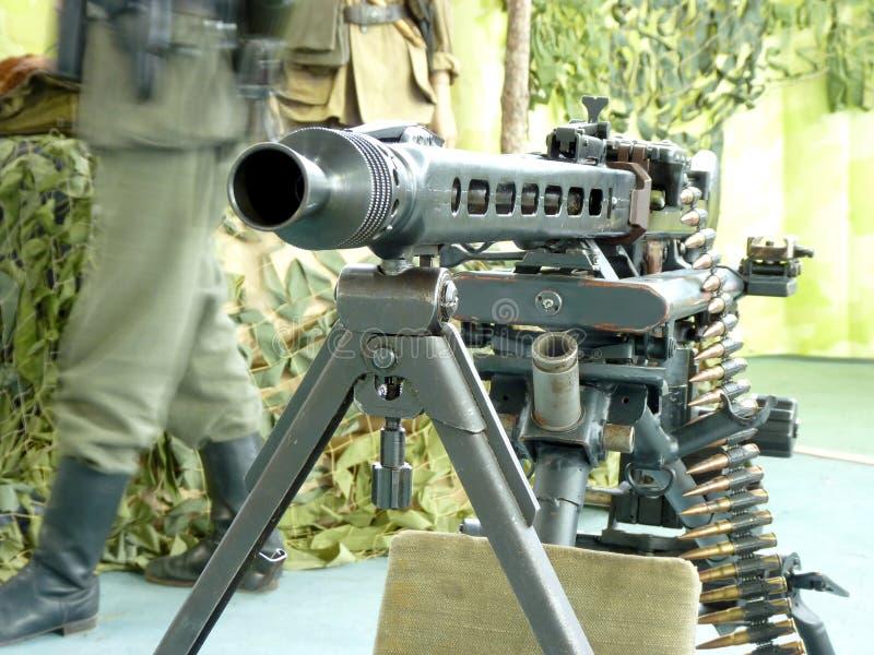 Tysk maskingevär MG-42 royaltyfria bilder
