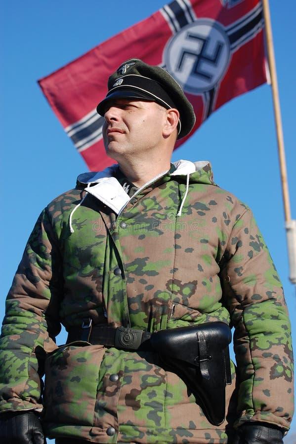 tysk militär personlikformig ww2 arkivfoton