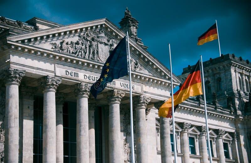 tysk parlament royaltyfri foto