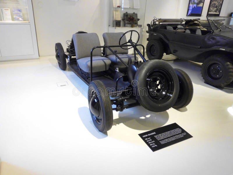 Tysk prototyp för nytto- bil arkivbild