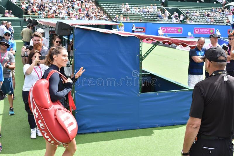 Tysk tennisspelare royaltyfri fotografi