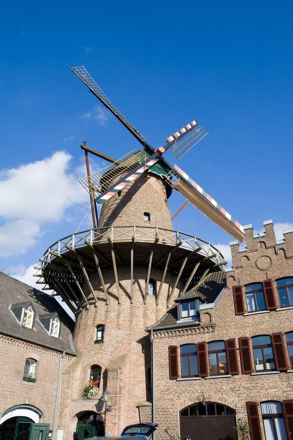 tysk windmill royaltyfri fotografi