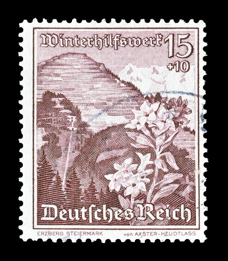 Tyskland p? portost?mplar royaltyfria foton