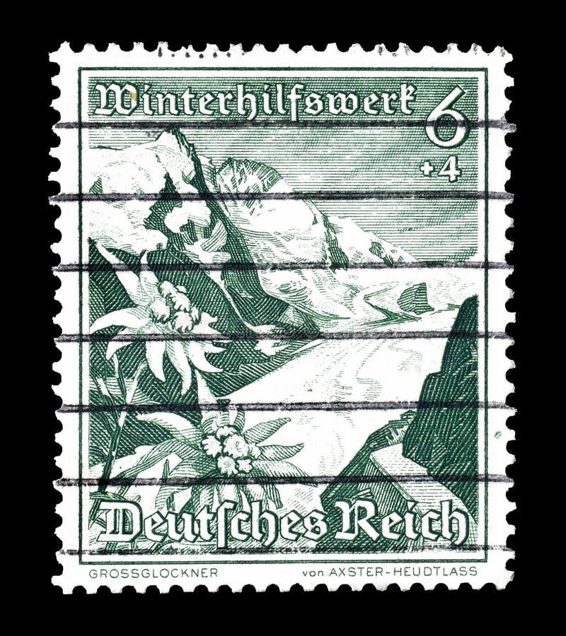 Tyskland p? portost?mplar arkivfoto