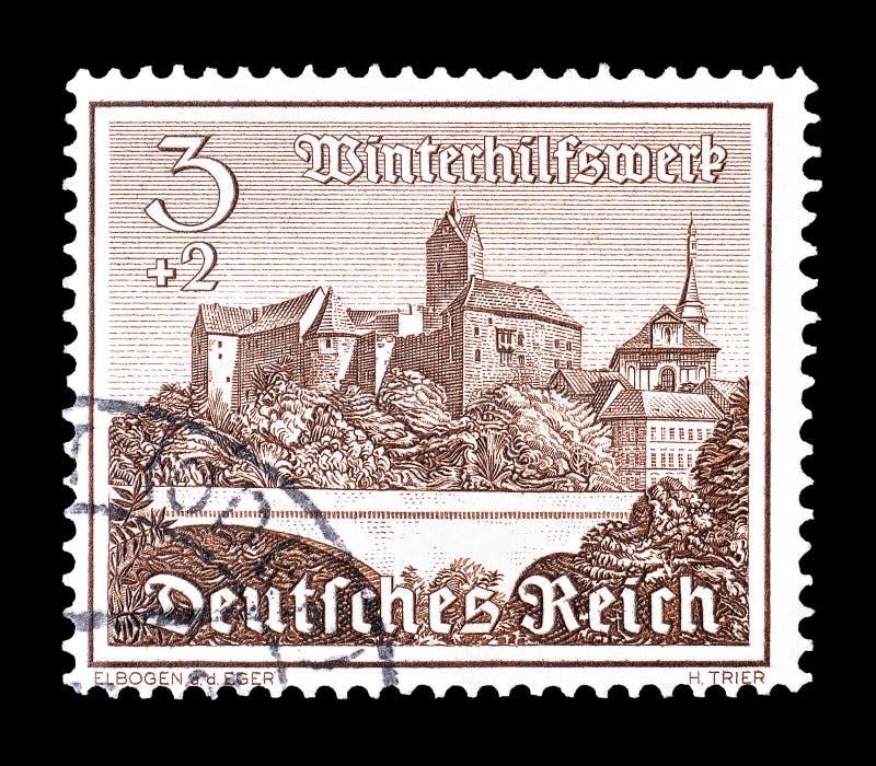 Tyskland p? portost?mplar royaltyfri foto