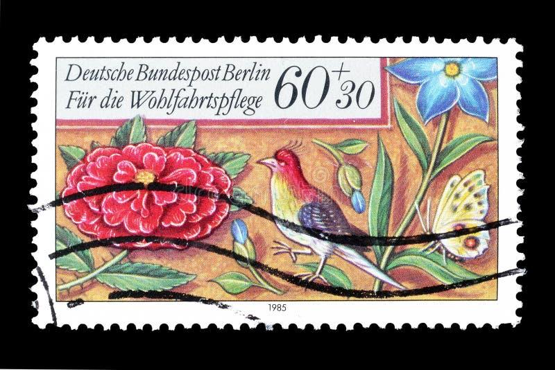 Tyskland p? portost?mplar arkivbilder