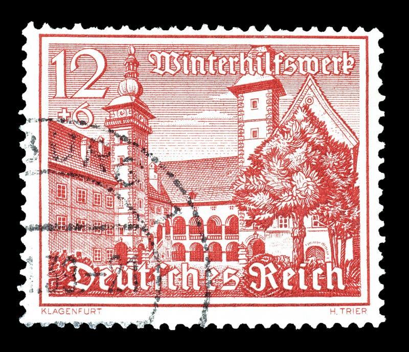 Tyskland p? portost?mplar arkivfoton