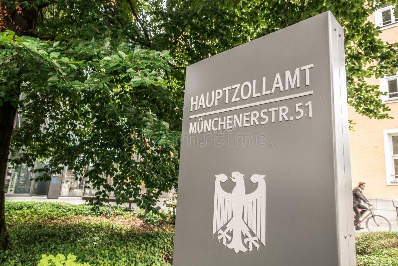 Tyskt centralt tullkontor arkivbilder