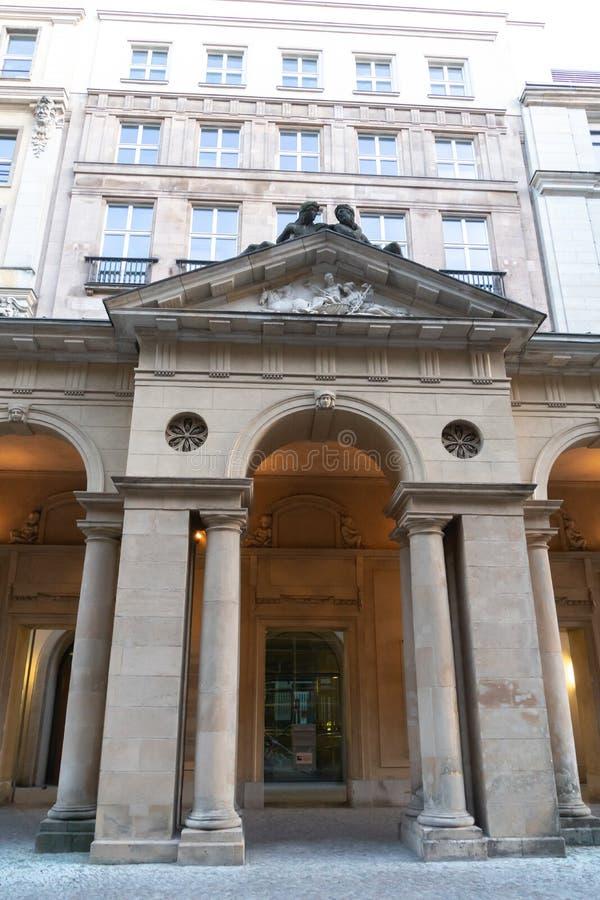 Tyskt federalt departement av rättvisa, Berlin royaltyfri bild