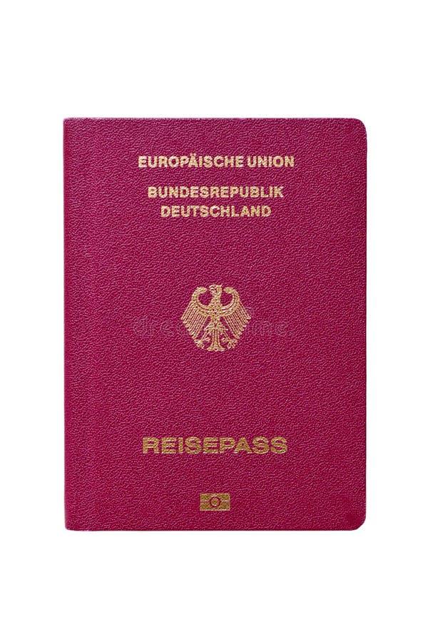Tyskt pass royaltyfria bilder