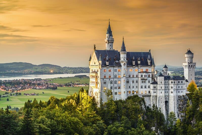 Tyskt slott arkivfoto
