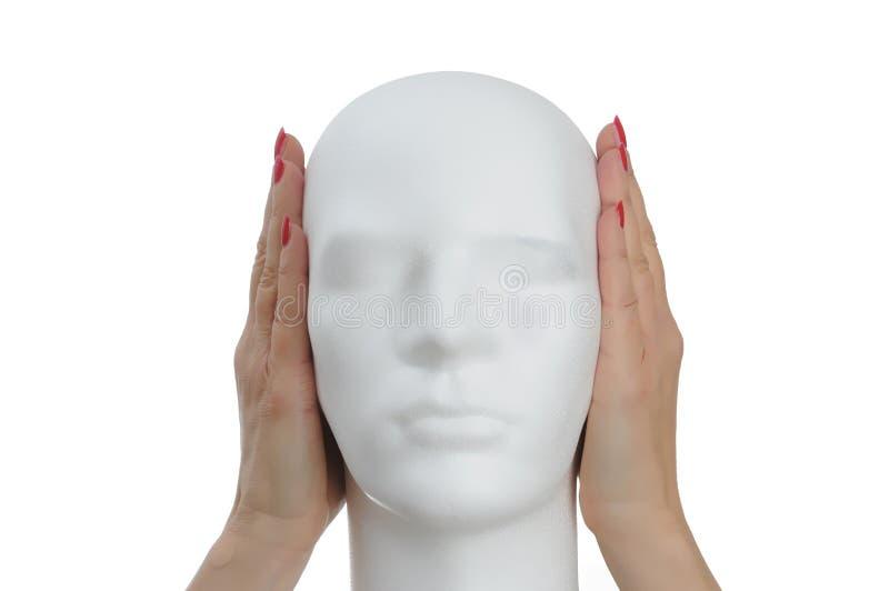Tystnad behar arkivbild