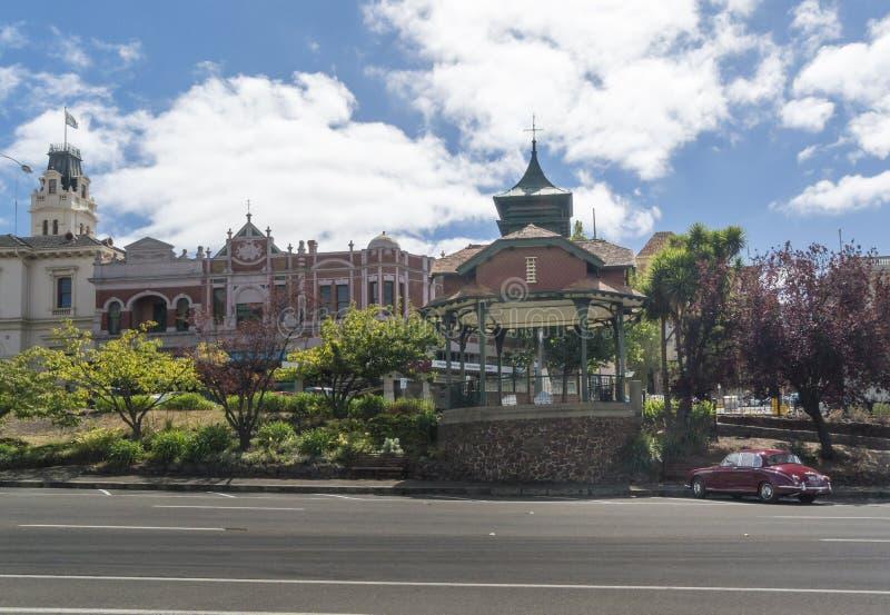 Tytaniczny Pamiątkowy Bandstand, Ballarat, Australia fotografia royalty free