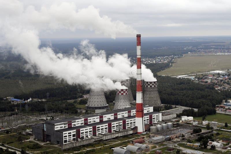 Tyumen Ryssland, Augusti 17, 2018, sikter av staden från luften royaltyfri bild