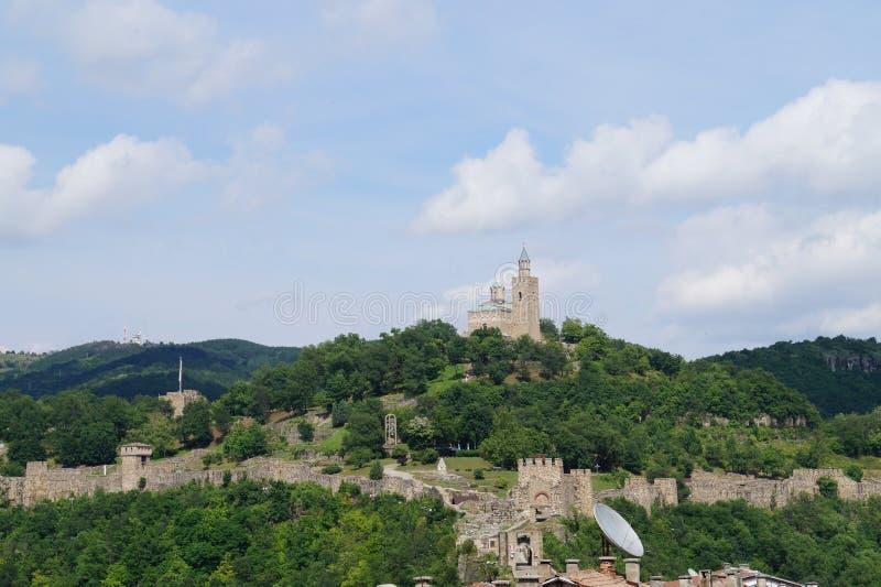 Tzarevetz крепости стоковые изображения rf