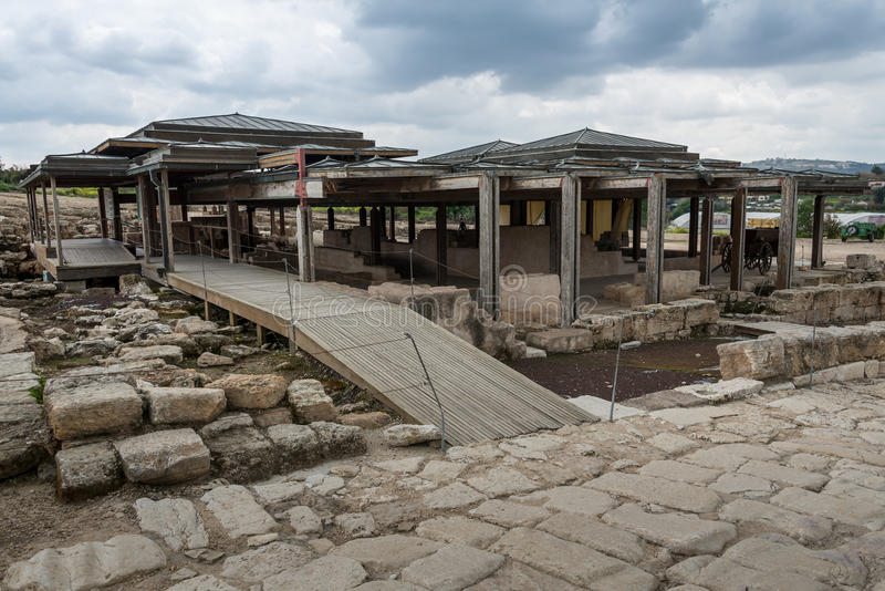 Tzipori考古学站点 免版税库存图片