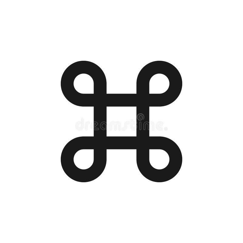 użytkownika cmd nakazowa ikona Znaki i symbole mogą używać dla sieci, logo, mobilny app, UI, UX royalty ilustracja