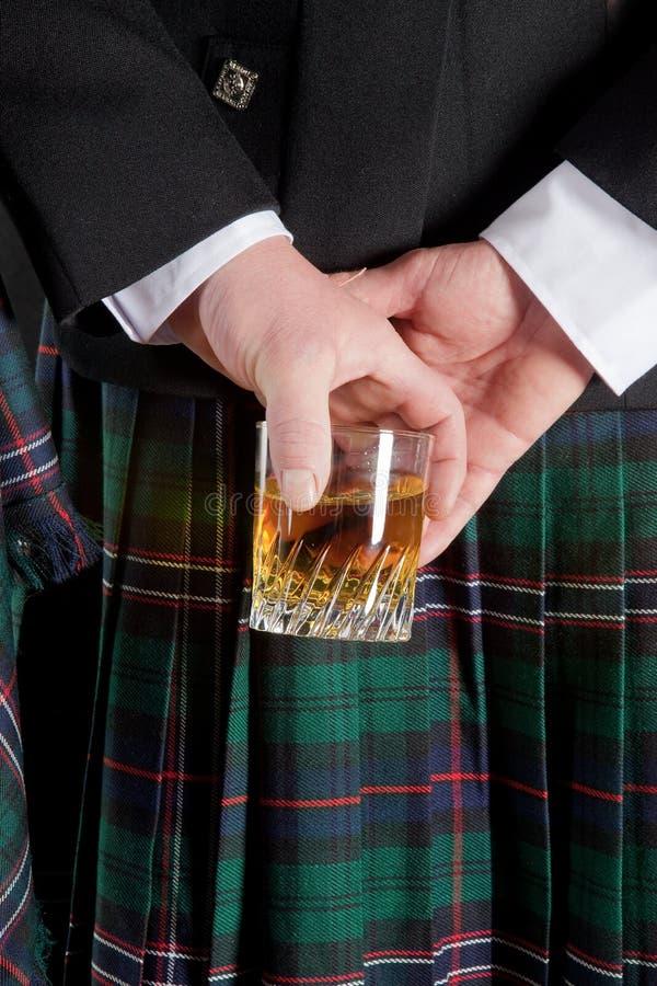 Uísque escocês imagens de stock royalty free