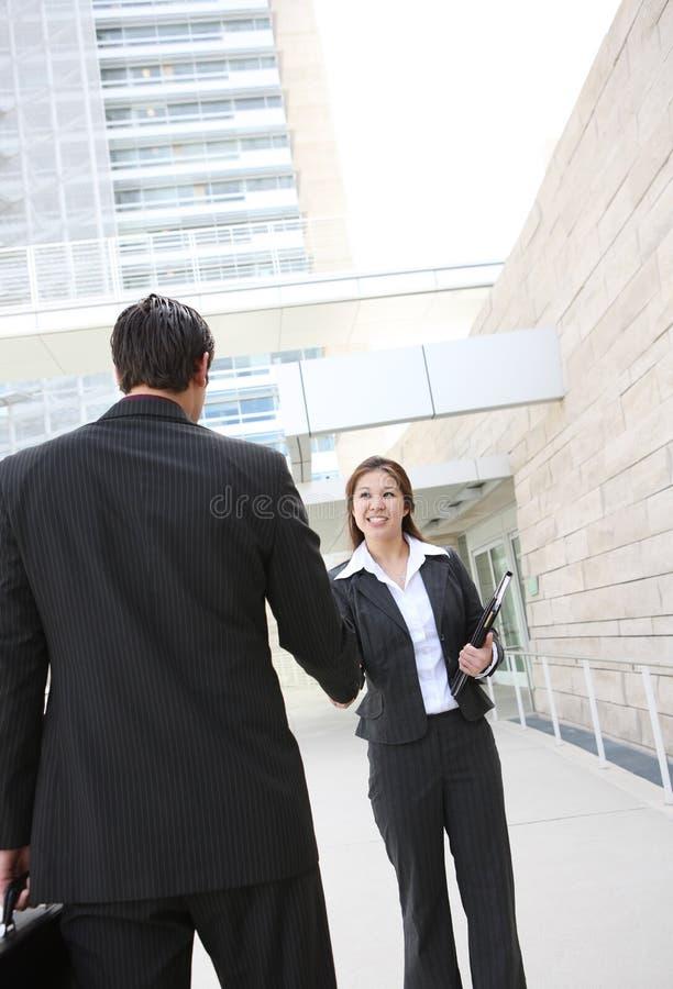uścisk dłoni biznesowa drużyna zdjęcia stock