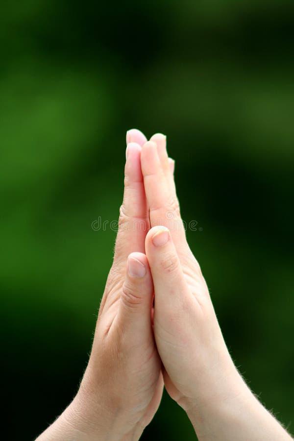 uścisnąć ręki zdjęcia royalty free