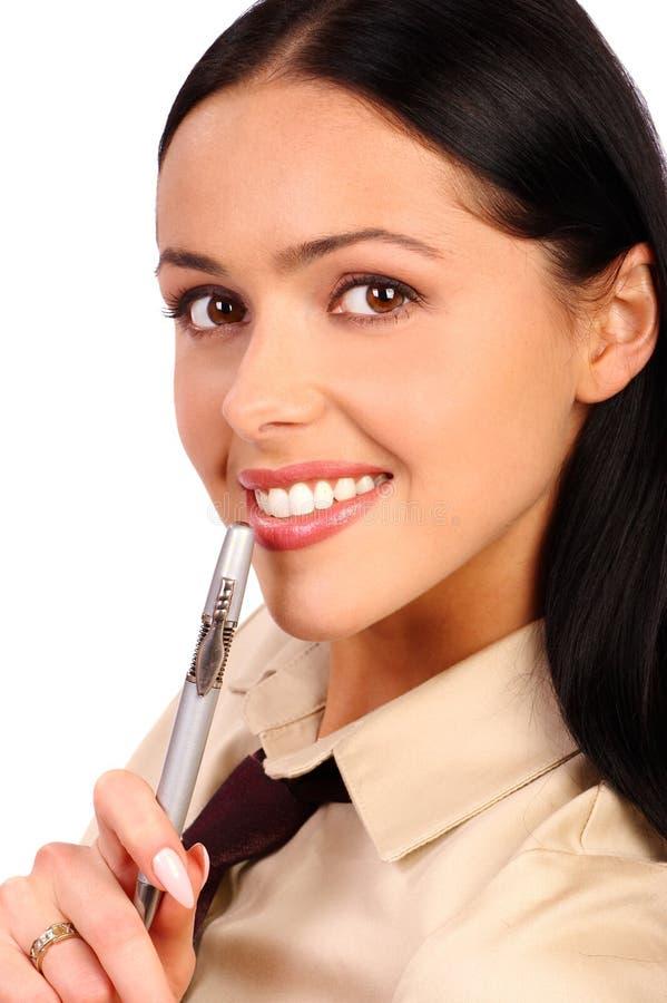 uśmiech biznesowej kobieta zdjęcia royalty free