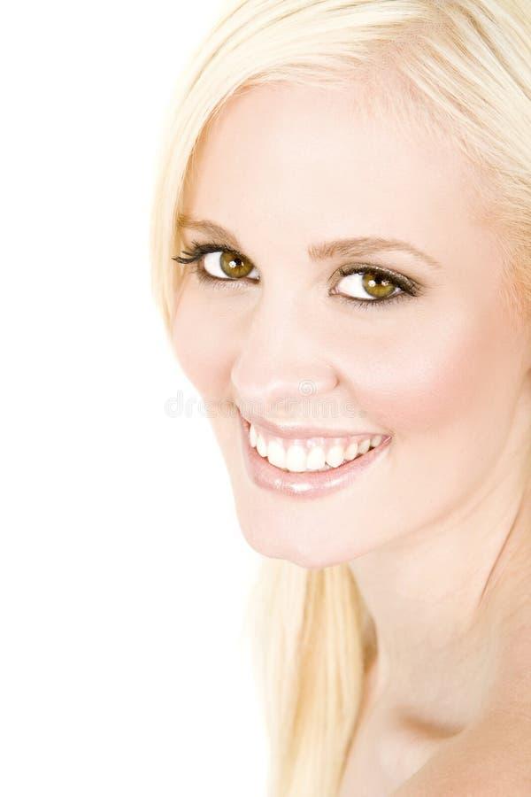 uśmiech kobieta fotografia stock