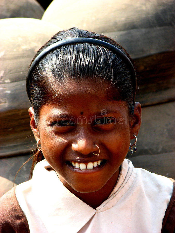 uśmiech teethy fotografia stock