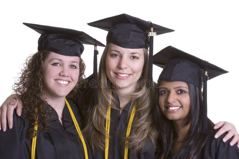 uśmiecha się absolwentów obraz royalty free