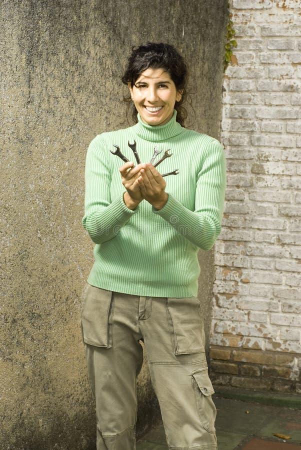 uśmiecha się kobiet ekspozycje francuskie zdjęcia royalty free