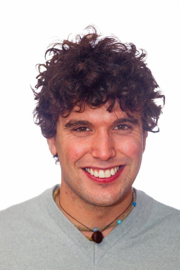 uśmiechnięci mężczyzna potomstwa zdjęcia royalty free