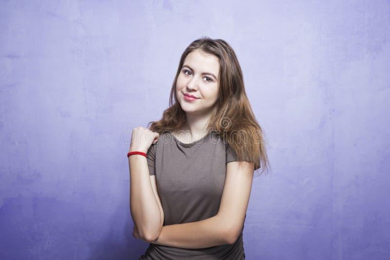 uśmiechnięci młodych kobiet obraz royalty free