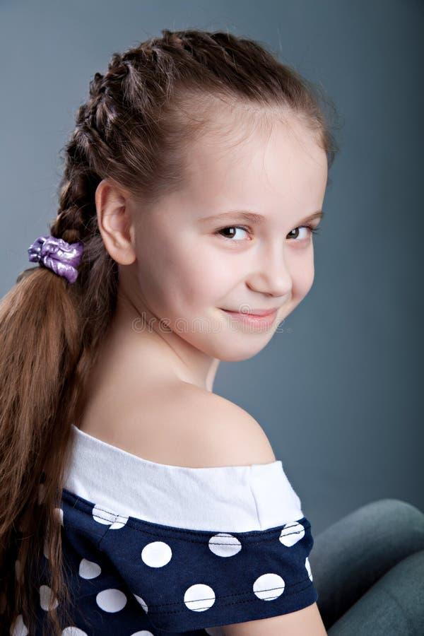 Uśmiechnięta dziewczyna obrazy stock