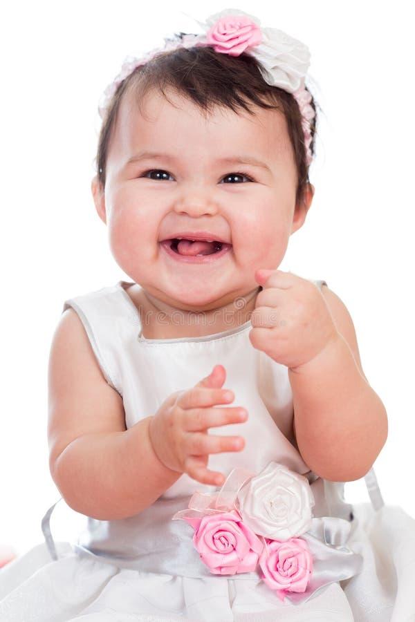 Uśmiechnięta dziewczynka obrazy stock