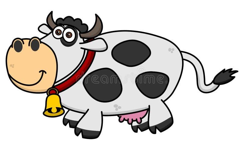 Download Uśmiechnięta Krowa Na Profilu Ilustracji - Ilustracja złożonej z ssak, arte: 57662701