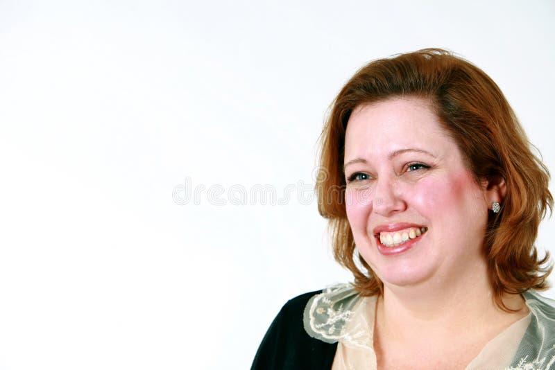 uśmiechnięta portret kobieta zdjęcia royalty free