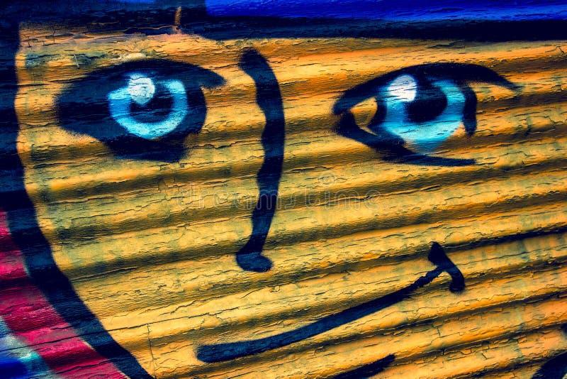 uśmiechnięta twarz obraz stock